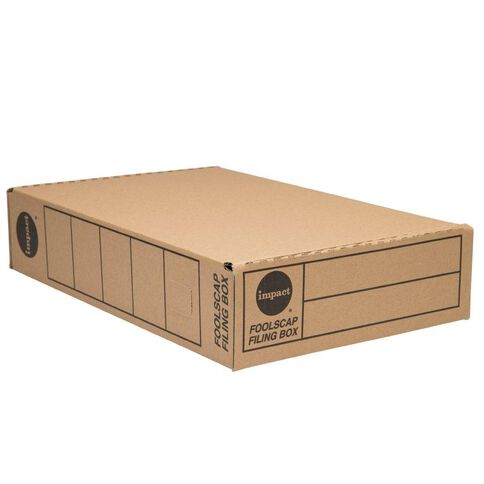 Impact Storage Box Foolscap Kraft
