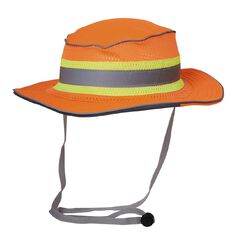 Esko Hi-Vis Full Brim Safari Hat Orange S-M