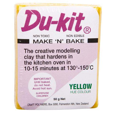 Du-kit Clay Yellow 50g