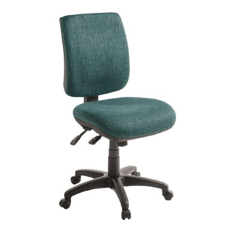 Eden Sport 3 Lever Midback Ergonomic Chair Atlantic