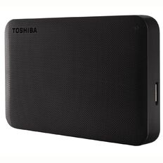 Toshiba 2TB Canvio Portable External Hard Drive Black