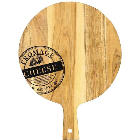 Living & Co Printed Paddle Board Round 40cm x 30cm