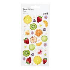 Uniti Epoxy Stickers Fruit