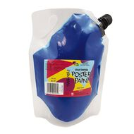 Fivestar Tempera Poster Paint Pouch Blue 750ml Blue 750ml