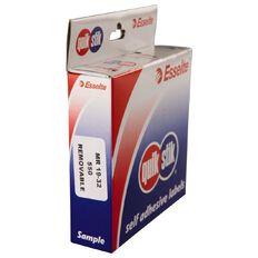 Quik Stik Labels Mr1932 19mm x 32mm 550 Pack White