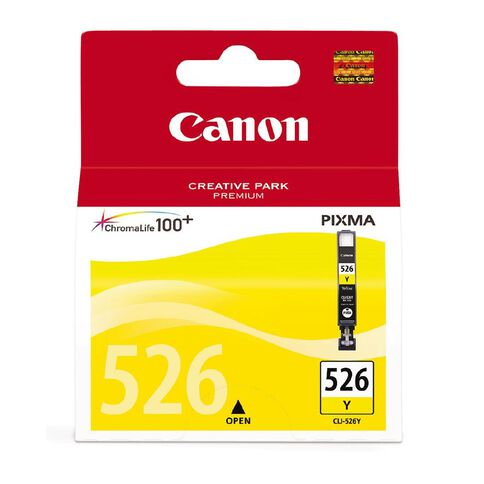 Canon Ink CLI526 Yellow (450 Pages)