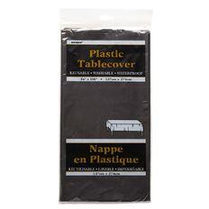 Unique Tablecover Black 137 x 274cm