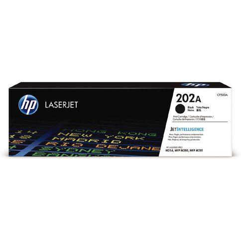 HP 202A LaserJet Toner Black (1400 Pages)