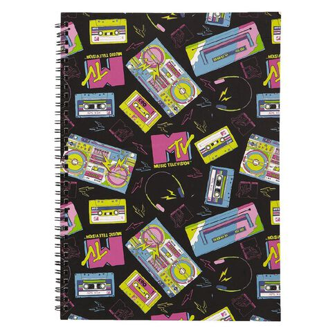 Softcover Notebook Black A4