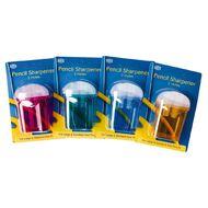Impact Pencil Sharpener 2 Hole Barrel Multi-Coloured