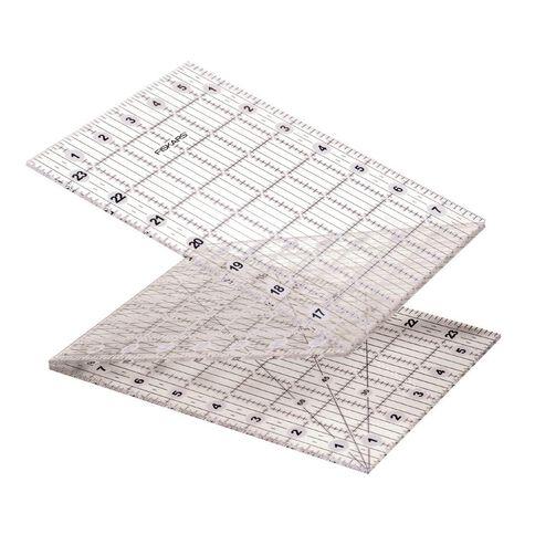 Fiskars Folding Ruler 6.5in x 24.5in Clear
