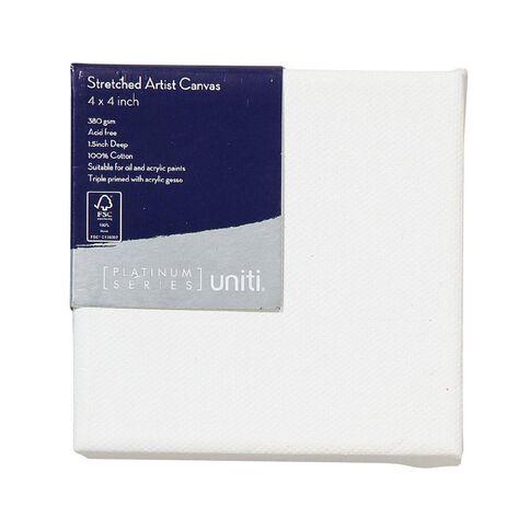 Uniti Platinum Canvas 4x4 Inches 380Gsm