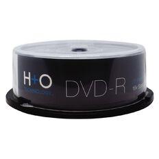 H+O Dvd-R 16X 4.7 GB 25-Pack