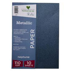 Direct Paper Metallic 110gsm 10 Pack Neptune A4