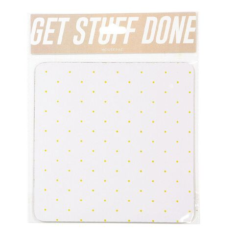 Mouse Pad Midas Touch Gold Spot