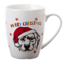 Artwrap Christmas Boxed Mugs Dog 350ml/12 Oz Assorted