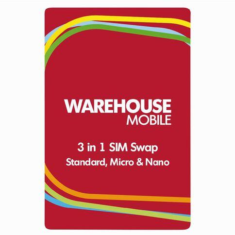 Warehouse Mobile Multi Swap Red