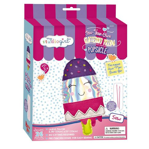 My Studio Girl Glitterati Pillow Popsicle