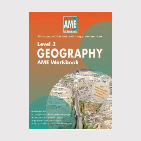 Ncea Year 12 Geography Workbook