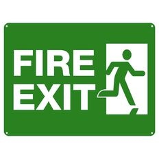 Impact Fire Exit Sign Large 460mm x 610mm
