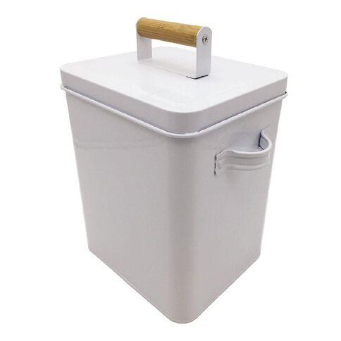 Living & Co Laundry Box White