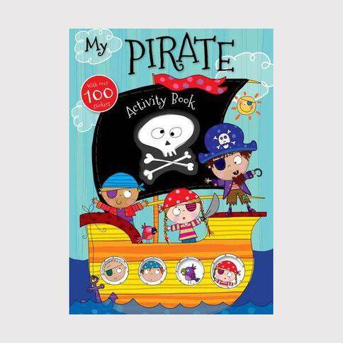 My Pirate Spiral Activity Book