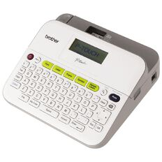 Brother Desktop Label Maker Ptd400 White