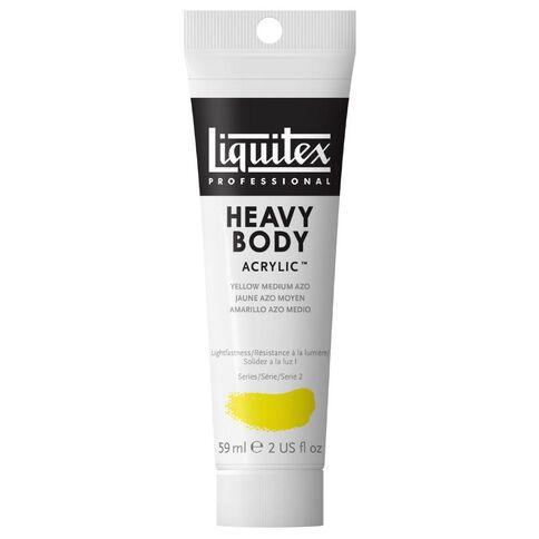 Liquitex Hb Acrylic 59ml Medium Azo Yellow