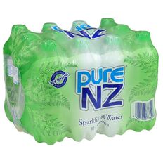Pure NZ Sparkling Water 600ml 12 Pack