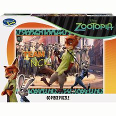 Disney Zootopia Boxed Puzzle 60 Piece Assorted