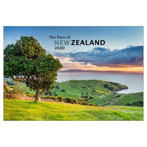 Calendar 2020 The Face of NZ Booklet