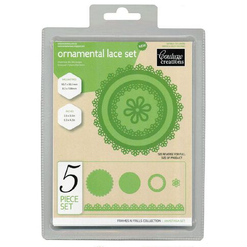 Couture Creations Craft Dies Frills & Frames Collection Assorted 1 Pack