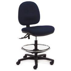 Chair Solutions Aspen Midback Tech Chair Navy Navy
