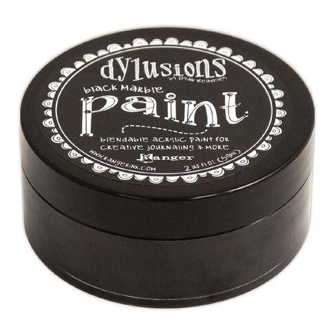 Ranger Dylusions Paint Black Marble