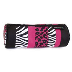 Pencil Case Animal Stripes Pink