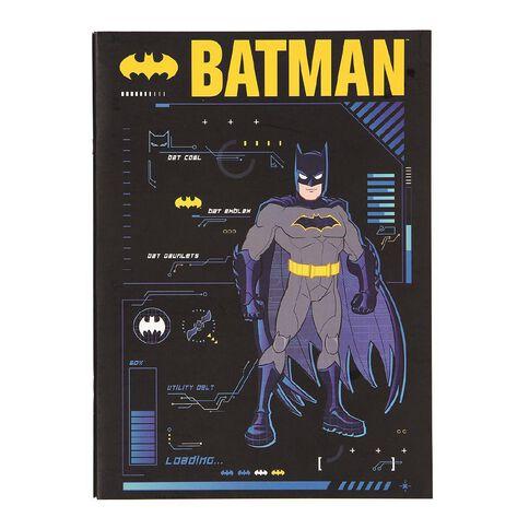 Batman Warner Bros Batman Scrapbook Blue Dark A3