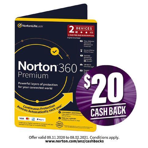 Norton 360 Premium 2 Device 12 Months