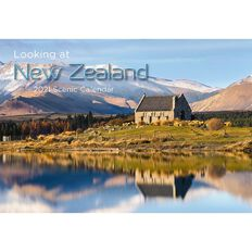 Calendar 2021 Looking at New Zealand Booklet