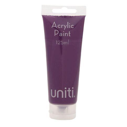 Uniti Acrylic Tube Purple 125ml