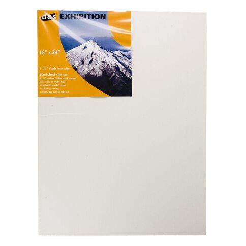 DAS 1.5 Exhibition Canvas 18 x 24in White