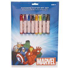 Avengers Poster Art Set