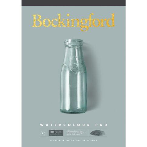 Bockingford Watercolour Pad 300gsm A3 Yellow A3