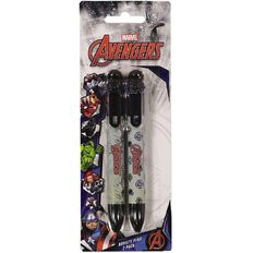 Avengers Novelty Pen 6 Colours 2 Pack