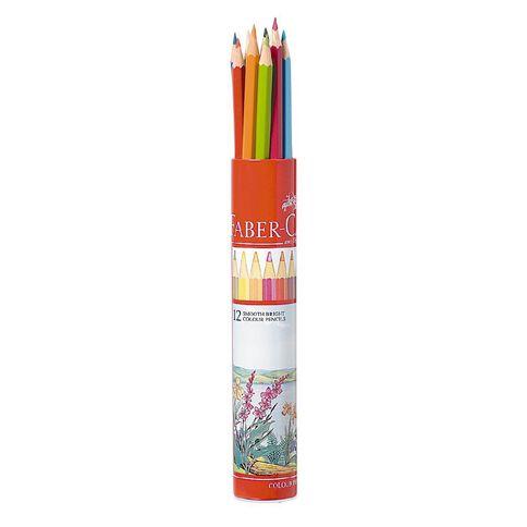Faber-Castell Coloured Pencils Full Tube 12 Pack