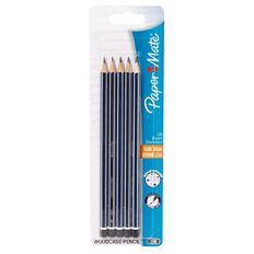 Paper Mate Woodcase Pencil 2B Multi-Coloured 5 Pack