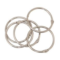 Impact Book Rings No 4 38mm 5 Pack