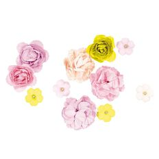 Rosie's Studio Thrive and Shine Paper Flowers 11 Piece