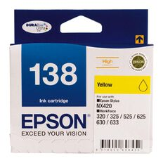 Epson Ink 138 Yellow (545 Pages)