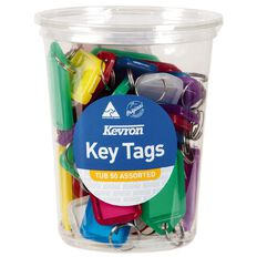 Kevron ID5 Key Tags Assortment 50 Pack