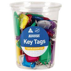 Kevron ID5 Key Tags Assortment 50 Pack
